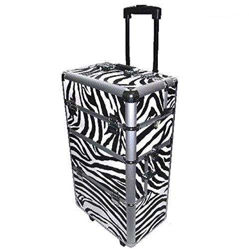 In alluminio trolley Zebra design-Mobiles studio