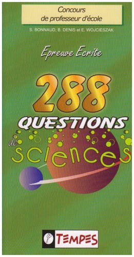 288 Questions de sciences