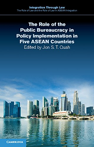 Descargar The Role of the Public Bureaucracy in Policy Implementation in Five ASEAN Countries (Integration through Law:The Role of Law and the Rule of Law in ASEAN Integration Book 9) PDF Gratis