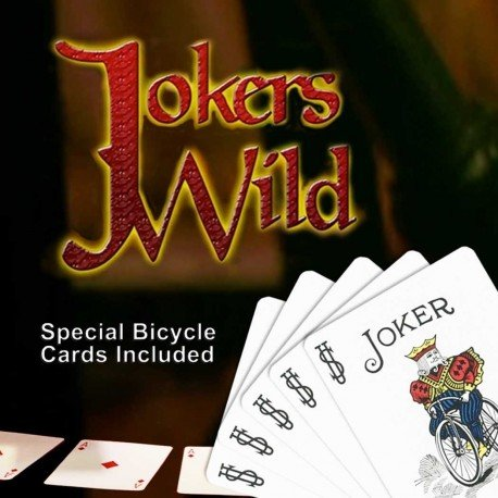 Jokers Wild (w/) - Trick by Magic Makers