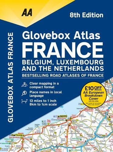 AA Glovebox Atlas France 2019 (Aa Road Atlas France)