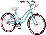 Best Schwinn Bicycle Stands - Schwinn Girls Sanctuary Kids Beach Cruiser Bike, Blue Review