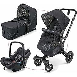 Cochecito de paseo Concord trío neo mobility set negro