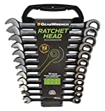 Die besten GearWrench Ratchet Sets - GearWrench 9412BE 12 Point Ratcheting Combination Metric Wrench/Spanner Bewertungen