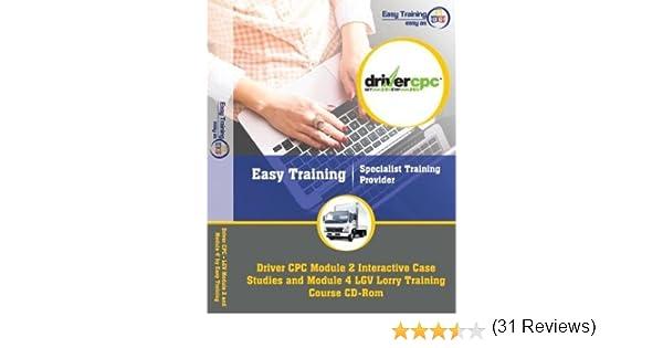 Driver CPC LGV Module     Module   INTERACTIVE Case Studies Training Course   M  Driving Test Success