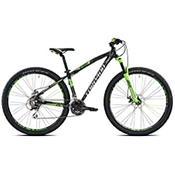 Torpado Mtb Icaro 29'' alu 3x7v disco taglia 53 nero / verde (MTB Ammortizzate) / Mtb Icaro 29'' alu 3x7s disc size 53 black / green (MTB Front suspension)