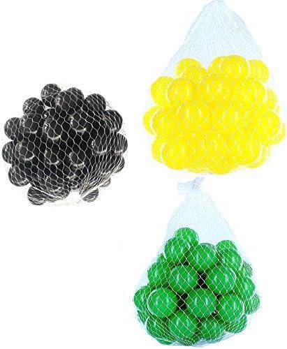 Balles pour pour pour balles Mélange Mix avec Vert, Jaune et Noir | Stocker  88a7e4