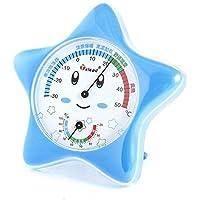 Household Estrela interior em forma de termômetro higrômetro ferramenta de medição