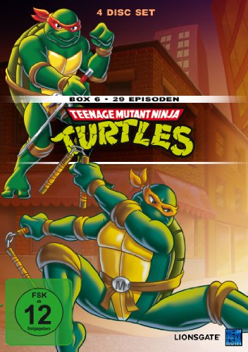 Teenage Mutant Ninja Turtles - Box 6 (Episode -