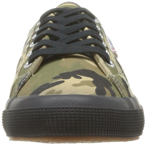 Superga 2750 Cotcamou, Sneakers Basses homme, Multicolore (951 Dk Green/Camo), 45 EU Multicolore (951 Dk Green/Camo)