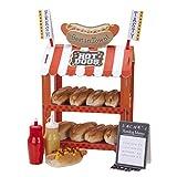 Talking Tables Street Stalls Stand de Hot dog et Pop-corn, Présentoir à Friandises...