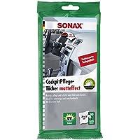 SONAX CockpitPflegeTücher Matteffect (10 Stück) Feuchte Tücher reinigen, pflegen und schützen alle Kunststoffteile, Holz…