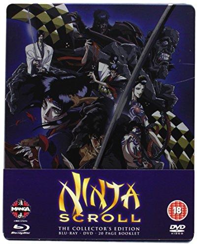 Ninja Scroll Blu-Ray/Dvd Steelbook [Edizione: Regno Unito] [Import italien]