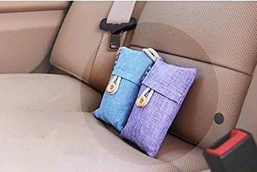 Preisvergleich Produktbild Außerhalb One® 2Pack natur Lufterfrischer Automotive KFZ-Lufterfrischer Luftreiniger natur Bambus anthrazit Tasche Hawaiian Lufterfrischer