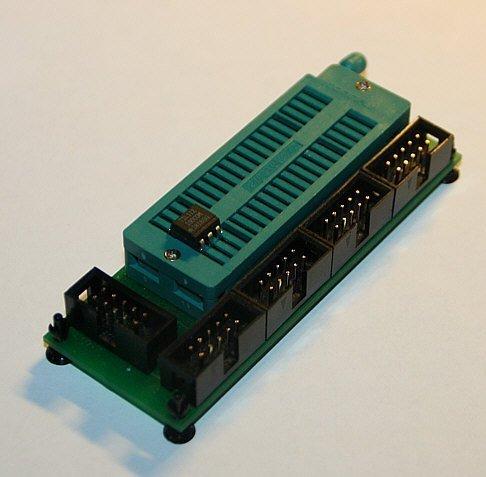 Schwenkhebel-Modul für fast alle AVR-Controller im DIL-Gehäuse - Atmega 8