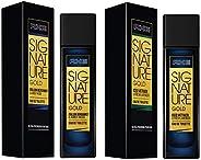 AXE Signature Gold Italian Perfume, Bergamot and Amber Wood, 80ml & AXE Signature Gold Iced Vetiver and Fresh Lavender Perfu