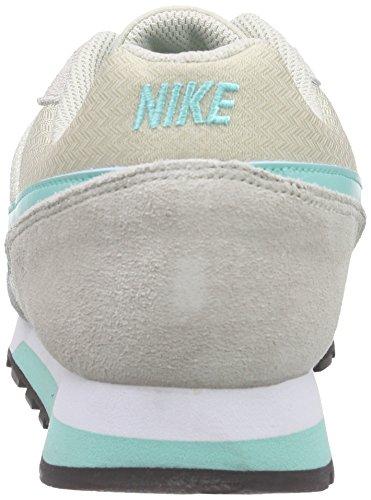 Nike - Md Runner 2, Scarpe da Donna Beige (Helles Braun-Beige/Hyper Türkis-Racer Blue/Weiß 034)