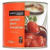 Koch Larder Geschälte Tomaten 2,5 kg Pflaumen