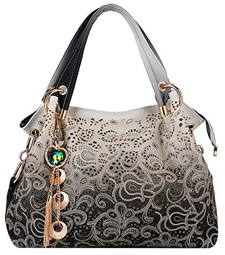 Coofit Sac femme cuir Sac à main femme cuir Sac à bandoulière femme Cabas femme Sac portes epaule Women's shoulder bag