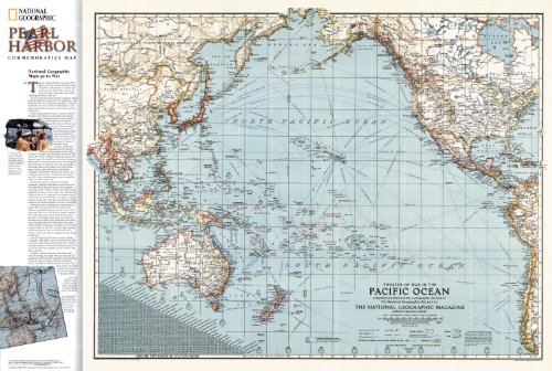 Pearl Harbor/Pacific Theater, 2 Sided (Walking Atlas)