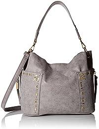 17ed393099 Steve Madden Women Handbags Drew Outside Pockets Hobo That Can Convert to  Crossbody