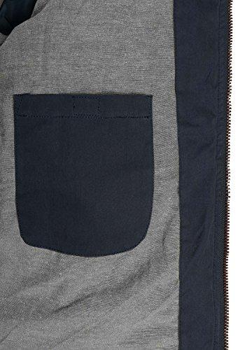SOLID Dry Herren Jacke Kapuzenjacke Steppjacke aus hochwertiger Materialqualität Insignia Blue (1991)