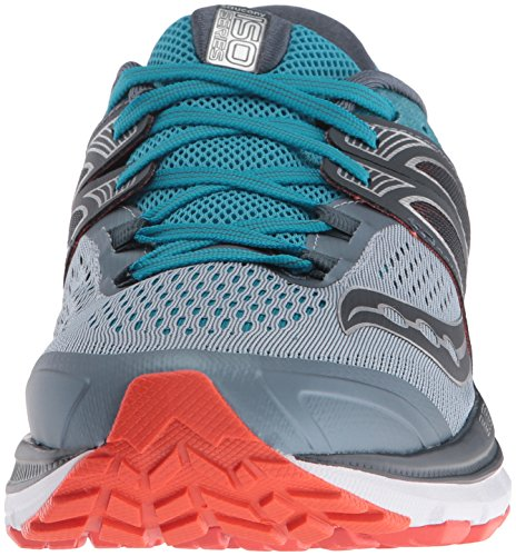 Saucony Triumph Iso 3, Scarpe Running Uomo Grey/Blue/Red