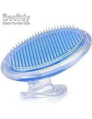 Bestidy exfoliant brosse pour traiter et prévenir les bosses de rasoir et les poils incultivables-éliminer l'irritation de rasage pour le visage, aisselle, jambes, cou, ligne de bikini