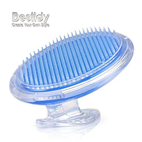 Bestidy Peeling Body Bürste für die Behandlung und Verhütung Rasierer Beulen und eingewachsenen Haare für Männer und Frauen, flexible Borstenbürste zu beseitigen Rasur Irritation für Gesicht