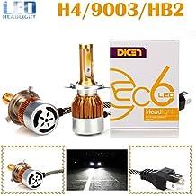 Pack-2H49003HB2LED Faros delanteros de todo en uno Kit de conversión Hi/Low vigas bombillas 6000K 7200lm 80W–2años de garantía