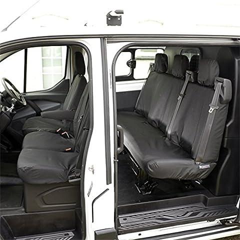 Ford Transit Tourneo–Tailored Primera y Segunda Fila de asiento (2013–) Negro