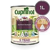 Cuprinol Garden Shades 1 L - Pinturas de pared para interior (Pintura, Preparado, Construcción, En vallas y cercados, Muebles, Shed, Mate, 1 L, Summer