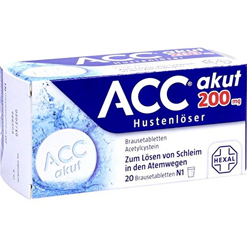 ACC akut 200 mg Hustenlöser, 20 St. Brausetabletten
