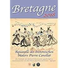 Bretagne 2018: Aquarelle des bretonischen Malers Pierre Cavellat