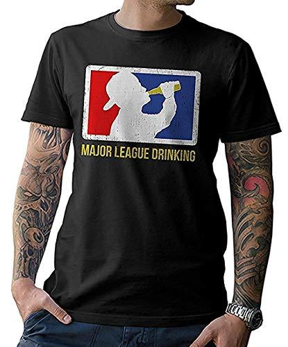 NG articlezz Herren T-Shirt Major League Drinking Bier Party Herrentag Shirt -
