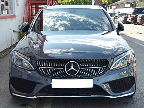 AMG Grill Grille Without Degree Camera Black FS205030 for sale  Delivered anywhere in UK