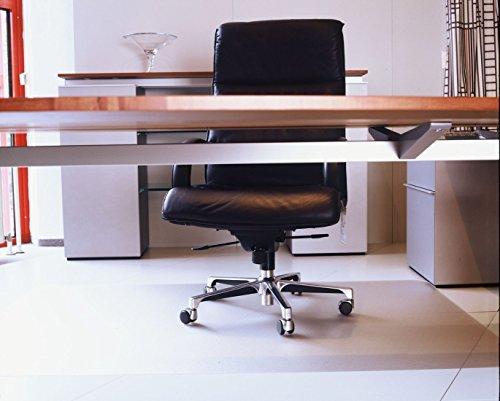 Floordirekt ECO V Bodenschutzmatte - 120x120cm - für Hartböden (Parkett, Laminat, etc.)