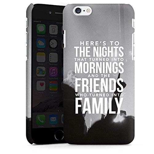 Apple iPhone X Silikon Hülle Case Schutzhülle Freunde Familie Sprüche Premium Case matt