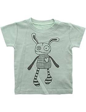 Small Rags Mädchen Kurzarm Baby- und Kindershirt, 100% Baumwolle