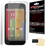 [Pack of 3] TECHGEAR® Motorola Moto G (XT1032) & Moto G 4G/LTE ULTRA CLEAR LCD Screen Protectors