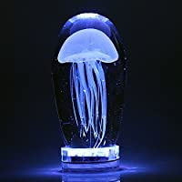 YMJ Led luce notturna posto letto vetro di lampada medusa Lampada Bedroom