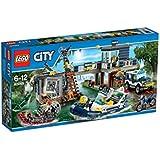 Lego City - 60069 - Jeu De Construction - Le Poste De Police Des Marais