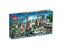 LEGO City Police 60069 - La Caserma della Polizia nelle Paludi - LEGO - Casa e cucina