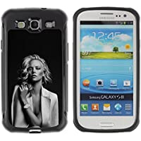 LASTONE PHONE CASE / Suave Silicona Caso Carcasa de Caucho Funda para Samsung Galaxy S3 I9300 / Hollywood Movies Black White