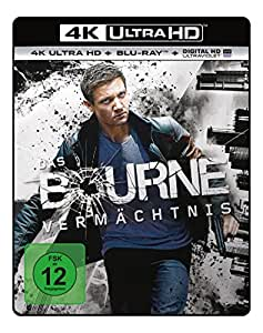 Das Bourne Vermächtnis  (4K Ultra HD) (+ Blu-ray)