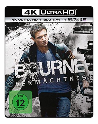 Das Bourne Vermächtnis - Ultra HD Blu-ray [4k + Blu-ray Disc]