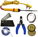 6 In 1 Electric Soldering Iron Stand Tool Wire Stripper Kit