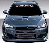 Mitsubishi 80cm hochwertige UV-beständige Aufkleber,Sticker, für Auto,Wand,Laptop,Fliesen,Bad,Badezimmer,WC, und alle
