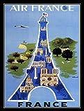 Metall Vintage Retro Shabby Chic Blechschild Frankreich Wandplakette (3040)