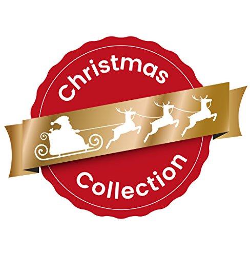 Heitmann Deco Adventskalender zum Aufhängen und selbst Befüllen – Filz-Adventskalender – Grau, Beige, Weiß